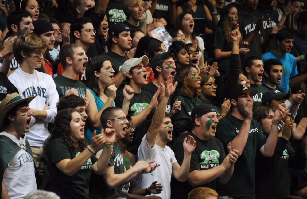 Basketball fans. Photo via Wikimedia Commons.